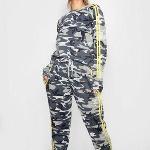Camouflage jogger set